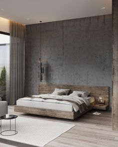 50 Amazing Industrial Master Bedroom Design Ideas is part of Modern bedroom decor - Modern Master Bedroom, Modern Bedroom Decor, Master Bedroom Design, Contemporary Bedroom, Master Bedrooms, Trendy Bedroom, Diy Bedroom, Bedroom Neutral, Master Suite