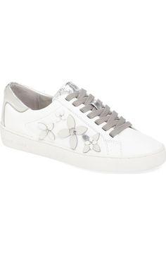 MICHAEL Michael Kors Lola Flower Sneaker (Women) available at #Nordstrom