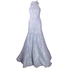 Exclusive Finale Gown (23.085 BRL) ❤ liked on Polyvore featuring dresses, gowns and long dresses