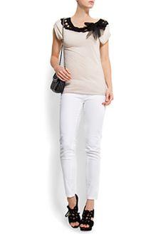 Five pockets skinny jeans $20