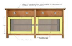Ana White   Build a Benchmark Media Console   Free and Easy DIY Project and Furniture Plans