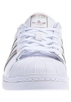 adidas Damen Superstar W Sneaker, Weiß (Ftwwht/Su (mit ...