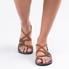 dc5c3c79cff86 Handwoven Sandals for Women. Grey SandalsOrange GreyComfortable ShoesDesigner  ShoesPalmLeavesBeauty ...