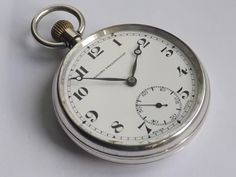 Silver Record Dreadnought Trenton Birmingham 1933 Dennison Eclipse Pocket Watch by CarelleWatches on Etsy Pocket Watches, Birmingham, Trending Outfits, Unique Jewelry, Handmade Gifts, Silver, Accessories, Etsy, Vintage