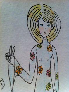 "Michelle Cahill illustrative series ""The Dolls"" @ www.chinadahlia-arts.com"