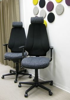 Reupholstered Office Chairs