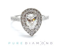 Have your heart skip a beat with a wonderful white gold engagement ring. Whether you're looking for simple or a twisted engagement ring, PureDiamond.ca is happy to help you find the perfect diamond ring. Ranging from princess cut, square, cushion to round, we've got you covered. You will find our friendly service unparalleled. Whether you're living in Vancouver, Coquitlam, Richmond, North Vancouver or Burnaby, please feel free to call us at (604) 563-9875 and book an appointment.
