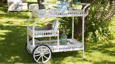 james trolley in garden