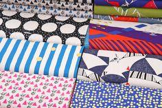 Pretty new #echino fabrics from Japan have arrived! http://www.modes4u.com/en/cute/c231_Echino-Fabric.html
