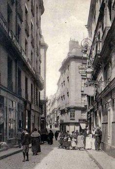Nantes-rue Santeuil à hauteur de l'hôtel des Colonies