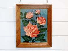 Vintage Roses Paint by Number