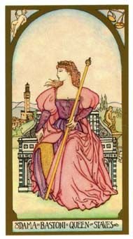 February 17 Tarot Card: Queen of Wands (Renaissance deck) The awareness you hold and the independence you live by are captivating to others. You're in a powerful position ~ you can do anything now