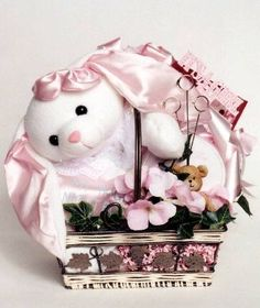Baby Girl Celebration! Baby Gift Basket | Baby Shower Gift Basket It's a girl! Celebrate the baby girl's new arrival with this adorable baby girl gift basket!. This baby gift basket includes: a comfortably blanket and plush Teddy, a handprint molding kit, beautiful picture frame, a soft plush rattle for baby, and more!. The perfect gift to welcome the new baby into the world!. Great baby shower gi... #Organic_Stores #Baby_Product