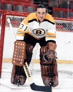 Jacque Plante ( informational link under construction. Hockey Goalie, Hockey Games, Hockey Players, Ice Hockey, Rangers Hockey, Montreal Canadiens, Nhl, Bobby Orr, Boston Bruins Hockey