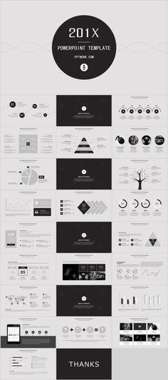 Moment Minimalist Powerpoint Template Creative Powerpoint