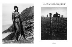 Alexander McQueen AW16 Jamie Hawkesworth Mica Arganaraz