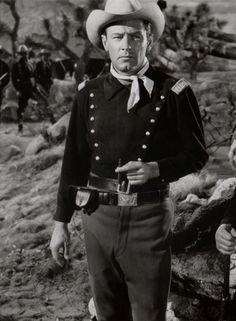 "William Holden en ""Fort Bravo"" (Escape from Fort Bravo), 1953"