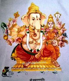 Lord Ganesha Paintings, Lord Shiva Painting, Krishna Painting, Shri Ganesh, Ganesha Art, Durga Maa, Ram Pic, Ganesh Bhagwan, Hindu Deities