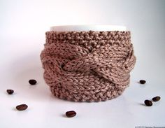 #cable knit #cup cozy $17.50