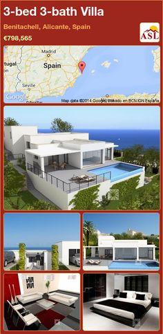 3-bed 3-bath Villa in Benitachell, Alicante, Spain ►€798,565 #PropertyForSaleInSpain