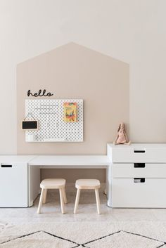 IKEA Stuva combination with color block on the walls playroom .- IKEA Stuva Kommbination mit Farbblock an den Wänden Spielzimmer www.houseofhawk … IKEA Stuva combination with color block on the walls of the playroom www.