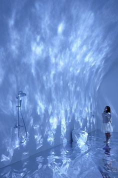 Torafu, water, light, projection