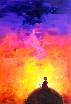 The Little Prince by Óscar Pinto Pineda Mystique, The Little Prince, Urban Art, Cute Wallpapers, Art Drawings, Graffiti, Street Art, Watercolor, Fantasy