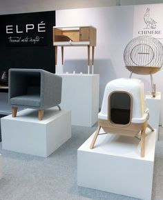 Sophisticated domiciles for modern pets, designed by Chimere. #salonedelmobile #milan2012