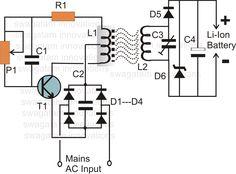 Wireless Li-Ion Battery Charger Circuit