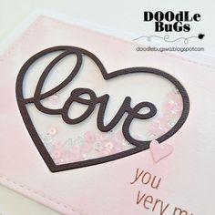 Doodlebugs: MFT Heart Full of Love Transformable Die