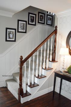 How to Stain an Oak Banister - The Idea Room#_a5y_p=4028211