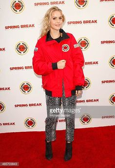 Actress Claire Holt attends the City Year Los Angeles 'Spring Break' Fundraiser at Sony Studios on April 19 2014 in Los Angeles California