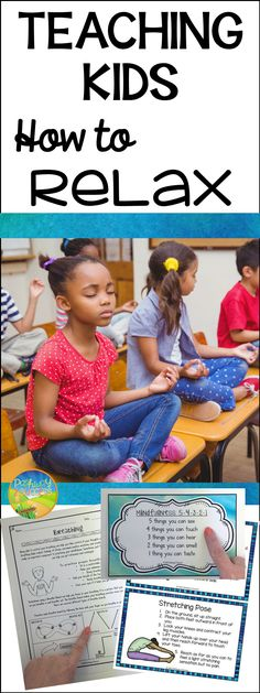 TEACH YOUR CHILD TO READ - Here are five techniques to promote relaxation in your classroom - can be used for individuals, pairs, small groups or the whole class. Super Effective Program Teaches Children Of All Ages To Read. Coping Skills, Social Skills, Social Work, Mindfulness For Kids, Mindfulness Activities, Teaching Mindfulness, Relaxation Techniques, Social Emotional Learning, Yoga For Kids