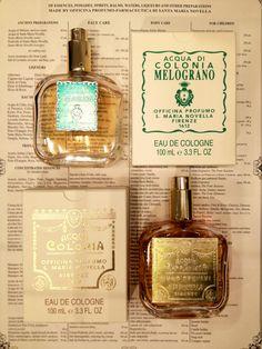 Santa Maria Novella perfume, made in Firenze (Florence) Italy