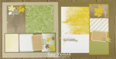 Autumn Leaves Color Theory Memories More Stampin Up scrapbooking fall 31 pages days scrapbook Lyssa 12x12 Scrapbook, Scrapbooking Layouts, Autumn Leaf Color, Autumn Leaves, Color Theory, Diy Cards, Halloween, Cardmaking, Stampin Up