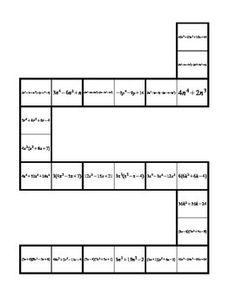 basic exponent rule puzzle pdf