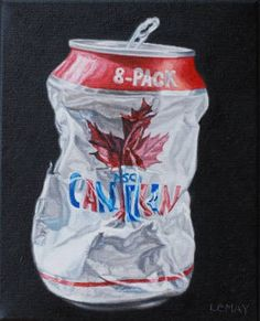 "Robert Lemay MOLSON CANADIAN / Canada House Gallery - oil, canvas 10"" x 8"""