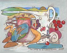 Gerald Shepherd: Still Life In A Garden