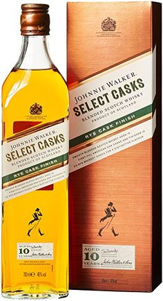 Johnnie Walker 10 Years Old Select Casks Rye Cask Finish Plus GB Whisky x l) Booze Drink, Whiskey Drinks, Bourbon Whiskey, Wine Drinks, Alcoholic Drinks, Beverages, Cocktails, Scotch Whisky, Johnnie Walker Whisky