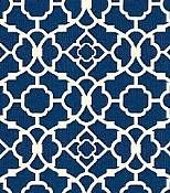 Navy Blue Waverly fabric- One of the original 8 patterns for the hand-made luggage tags that were made as guest favors but were lost in the mail. saddest day.