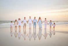 Family Beach Poses, Family Picture Poses, Beach Family Photos, Beach Photos, Family Pictures, Family Posing, Large Family Portraits, Large Family Photos, Beach Photography