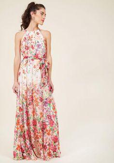 #AdoreWe #ModCloth Eliza J Eliza J Ever-Flowing Elegance Maxi Dress in 12 - AdoreWe.com