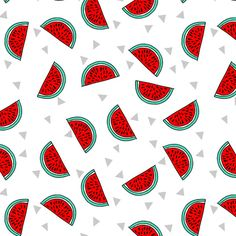 Watermelon by Andrea Lauren Art Print