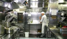 Galley tour onboard Holland America Line Oosterdam. Say cheese for the camera.