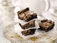 Double Choc & Hazelnut Brownies / Brownies / Categories / Recipes / Stork