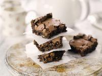 Double Choc & Hazelnut Brownies / Brownies / Categories / Recipes / Stork