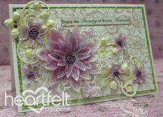 Heartfelt Creations | Sunflower Vellum Card