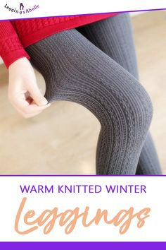 Warm Knitted Winter Leggings! Leggings outfit summer, black leggings outfit, stacked leggings outfit, leather leggings outfit, leggings outfit for school, casual leggings outfit, short leggings outfit, plus size leggings outfit, workout leggings outfit, tshirt and leggings outfit, comfy legging outfits, yoga leggings outfit, sports leggings outfit. #blackleggingsoutfit #leatherleggingsoutfit #casualleggingsoutfit #plussizeleggingsoutfit #workoutleggingsoutfit Comfy Legging Outfits, Plus Size Legging Outfits, Leggings Outfit Summer, Leather Leggings Outfit, Winter Leggings, White Capri Leggings, Pink Leggings, Sports Leggings, Yoga Leggings