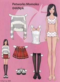 Cute Anime Paperdoll