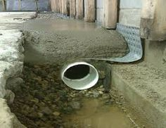 Image result for french drain design